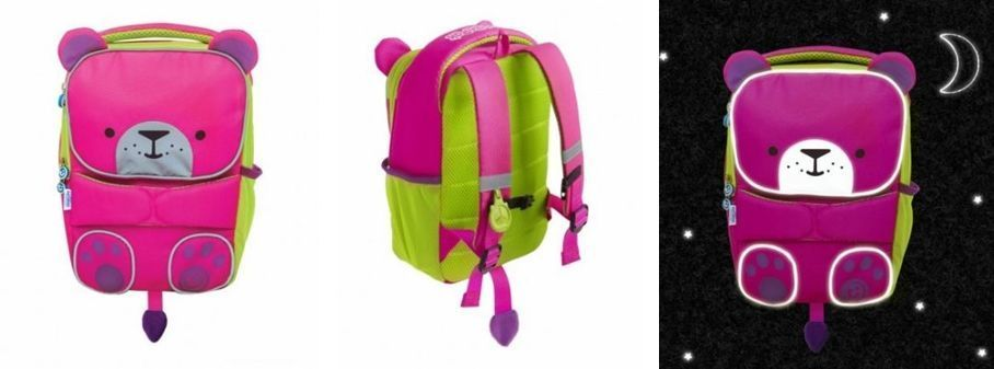 mochila colegio trunki bebé aventurero