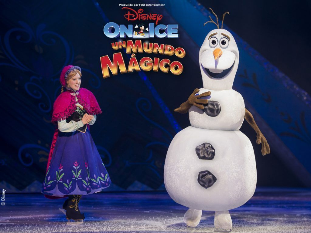 disney on ice un mundo mágico frozen