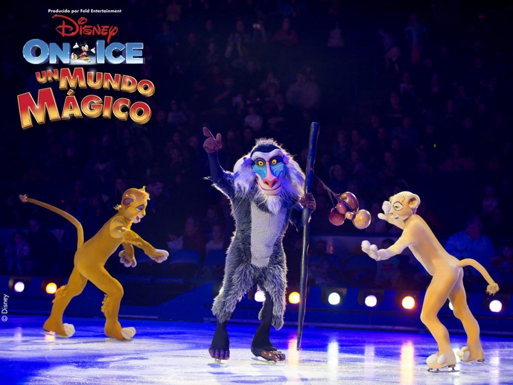 disney on ice un mundo mágico rey león