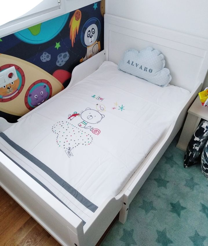 funda nórdica cama montessori